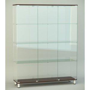 Стеклянная витрина серии СТ 5 2022х412х1226мм