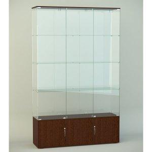 Стеклянная витрина серии СТ 6 2022х412х1226мм