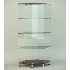 Стеклянная витрина серии СТ 7 1740х701х701мм