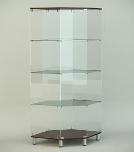 Стеклянная витрина серии СТ 7