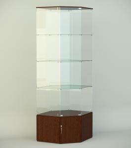 Стеклянная витрина серии СТ 8