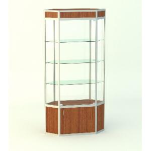Обзорная витрина Изумруд 2, фриз, накопитель 500мм.
