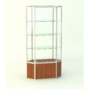 Обзорная витрина Изумруд 2, без фриза, накопитель 500мм.
