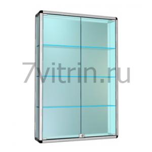 Навесная витрина для кубков без фриза