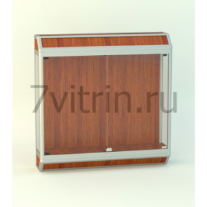 Навесная витрина для кубков Трапеция