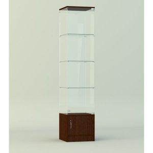 Стеклянная витрина серии СТ 4 2022х412х422мм