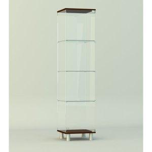 Стеклянная витрина серии СТ 1 1740х412х422мм